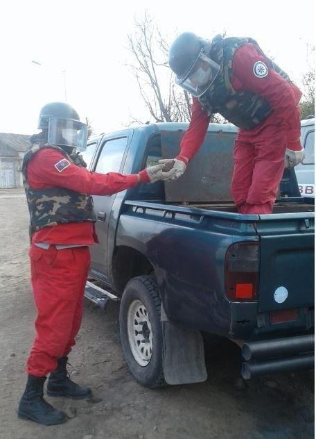 Gəncədə F-1 əl qumbarası aşkarlandı