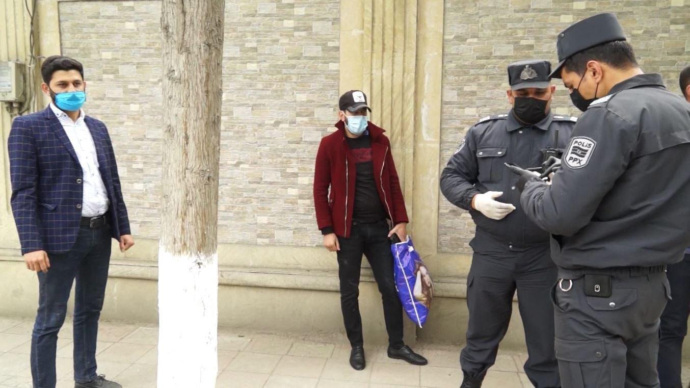 Polis Ağsuda karantini pozan 25 nəfəri cərimələdi