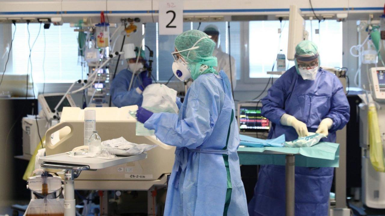 Ukraynada 500-dən çox tibb işçisi koronavirusa yoluxub