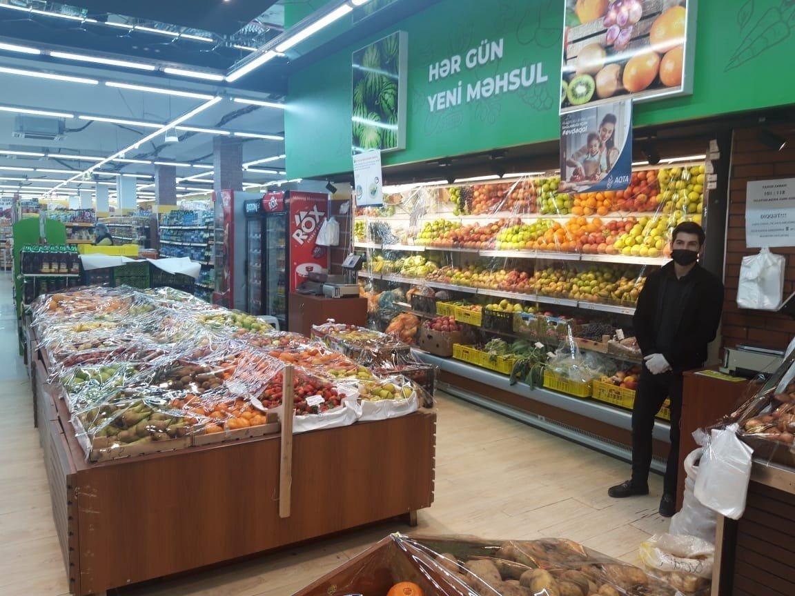 AQTA ərzaq satışı məntəqələrində monitorinqləri davam etdirir