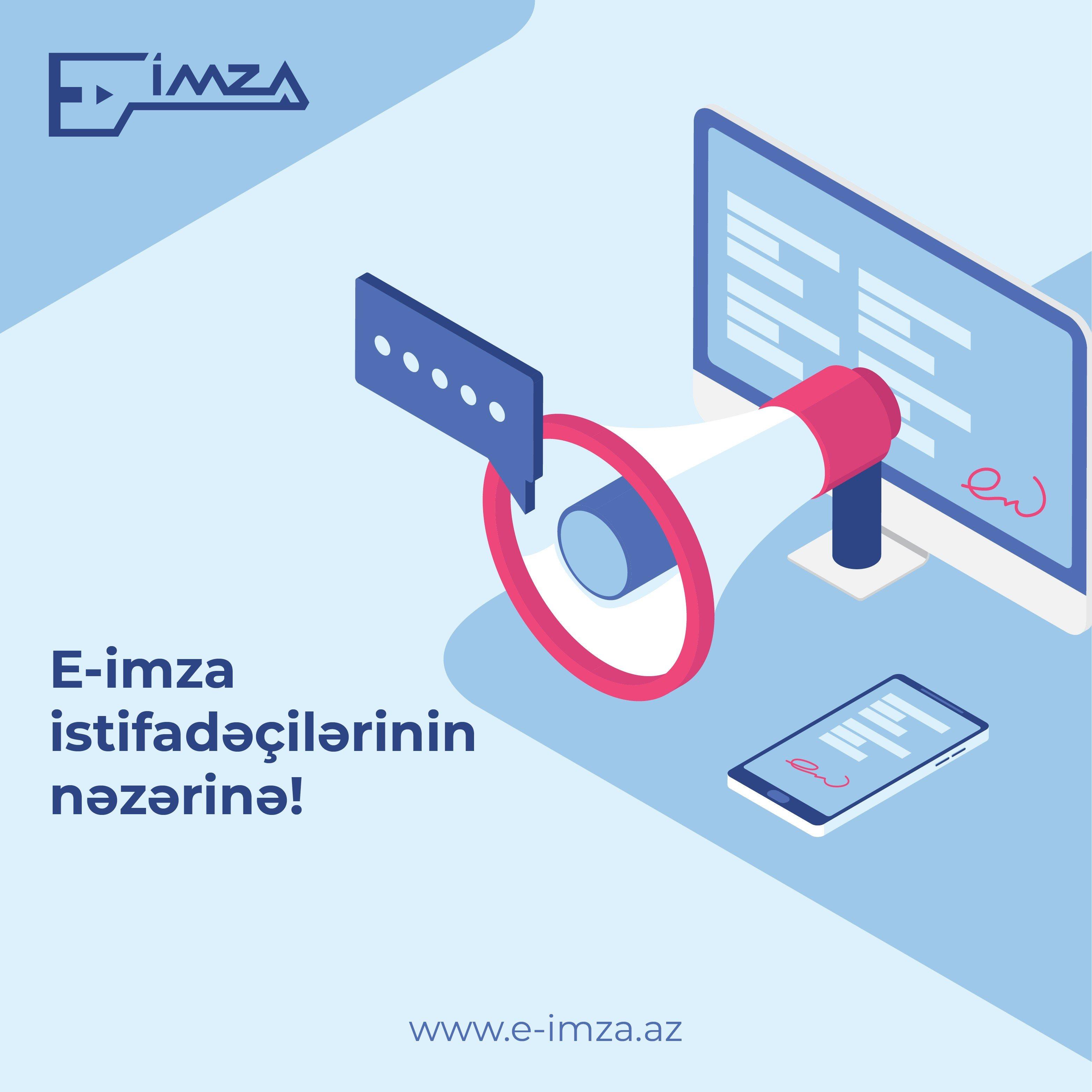 """Azərbaycanda """"Onlayn imzalayıcı"""" proqram təminatı yeniləndi"""