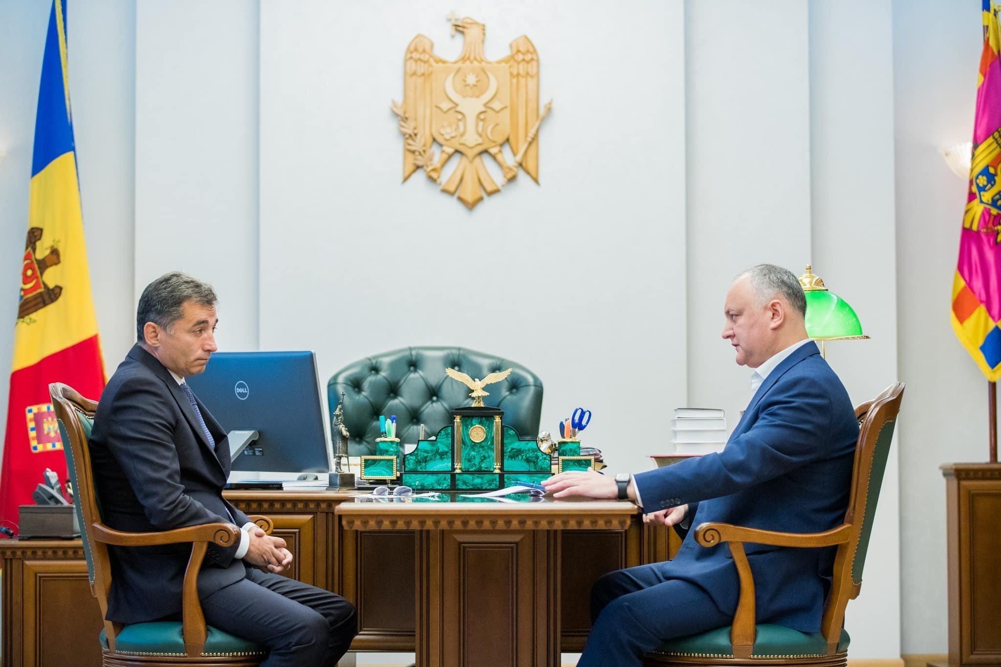 Moldova prezidenti Azərbaycan səfiri ilə COVID-19 ilə mübarizəni müzakirə edib