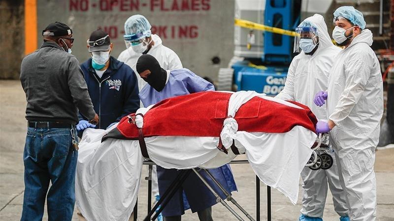 ABŞ-da koronavirusdan ölənlərin sayı 40 mini ötüb