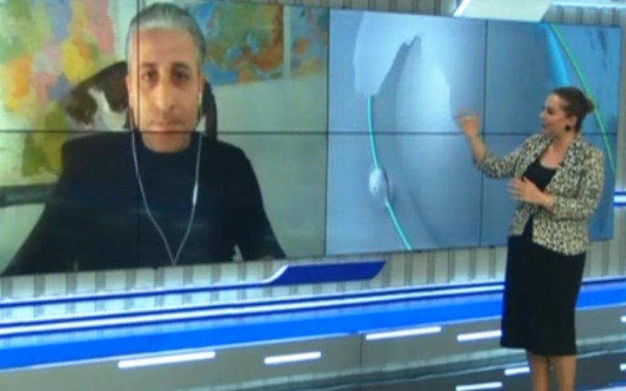 """""""ATV xəbər""""də pişik """"sürpriz""""i - Video"""