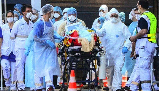 Dünyada bir gündə koronavirusdan 6,5 mindən çox insan öldü