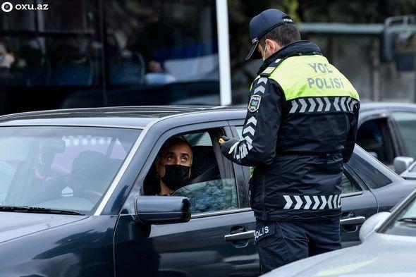 Karantin qaydalarını pozan sürücülərin sayı açıqlandı