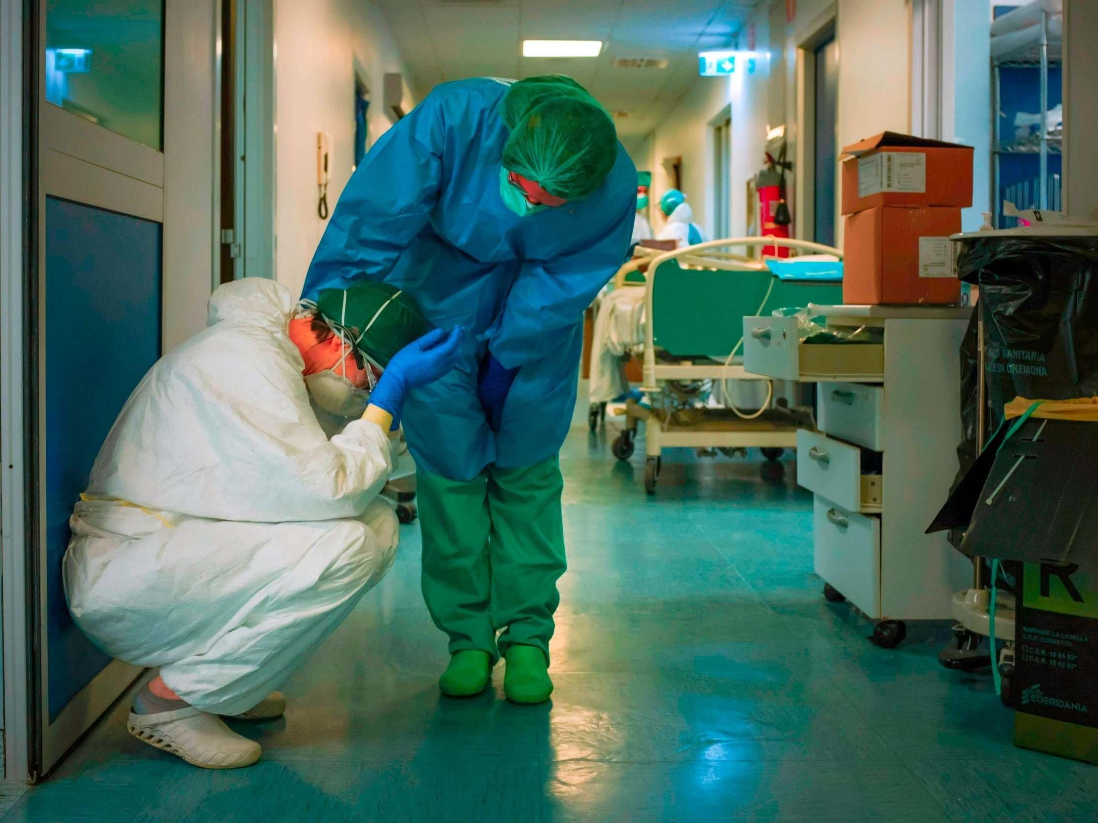 Belçikada koronavirus qurbanlarının sayı 9 mini ötdü