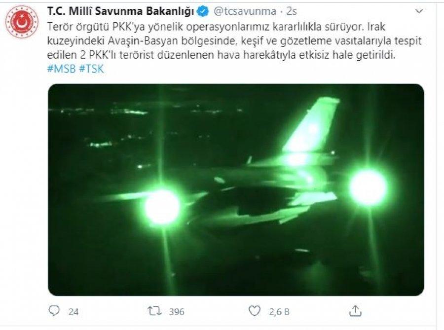 Türkiyədə və İraqın şimalında 5 terrorçu zərərsizləşdirilib