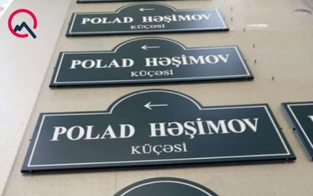Polad Həşimov küçəsi... - FOTO