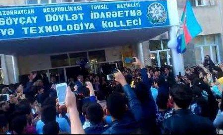 Göyçay Dövlət İdarəetmə Kollecində özbaşınalıq - Yeni nazir də seyrçi qalmaqdadır...