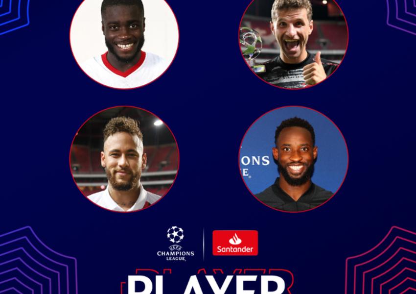 UEFA Çempionlar Liqasında 1/4 final oyunlarınının yekunları əsasında ən yaxşı oyunçunu müəyyənləşdirmək üçün səsverməyə başlayıb.