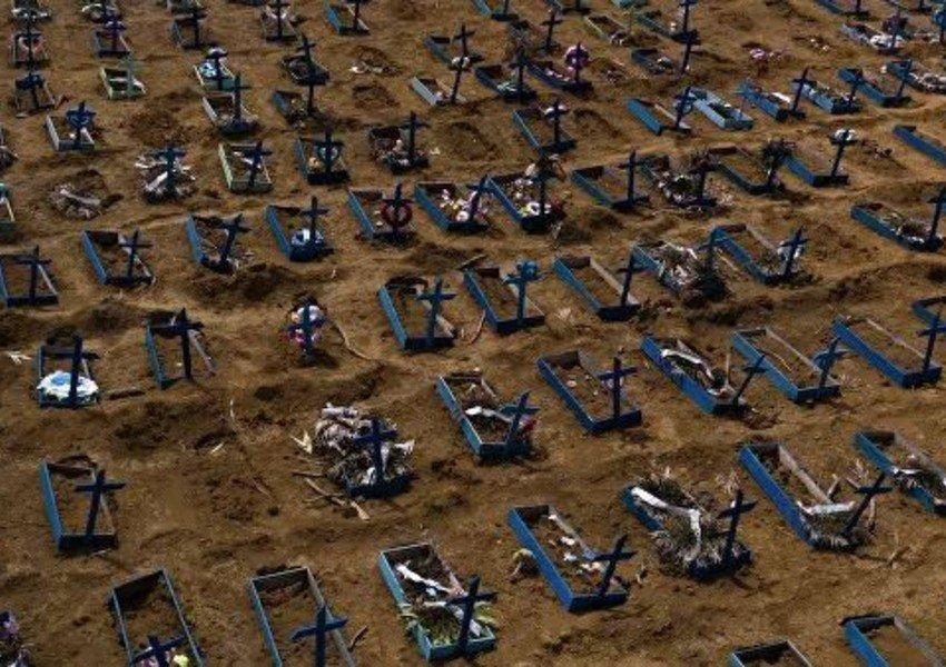 Braziliyada COVID-19-a yoluxanların sayı 3,36 milyona çatır