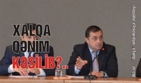 Qəzənfər Ağayev elin yolunu satıb… ASTARADA