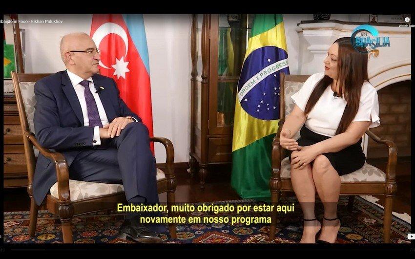 Braziliya telekanalında Ermənistanın Azərbaycana təcavüzündən bəhs edilib
