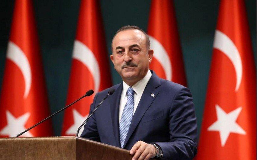 """Mövlud Çavuşoğlu: """"Türkiyə istənilən şəraitdə Azərbaycana dəstək verəcək"""""""