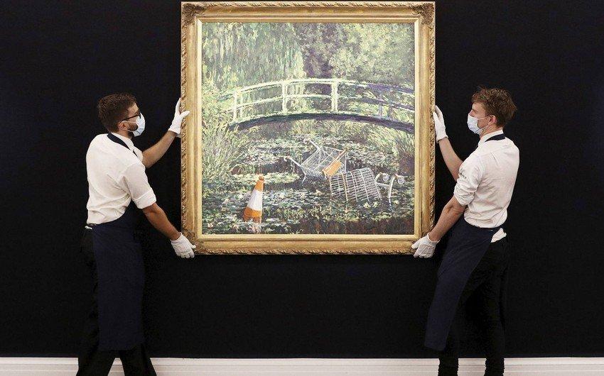 Sirli rəssamın əsəri Londonda auksionda təxminən 10 milyon dollara satıldı