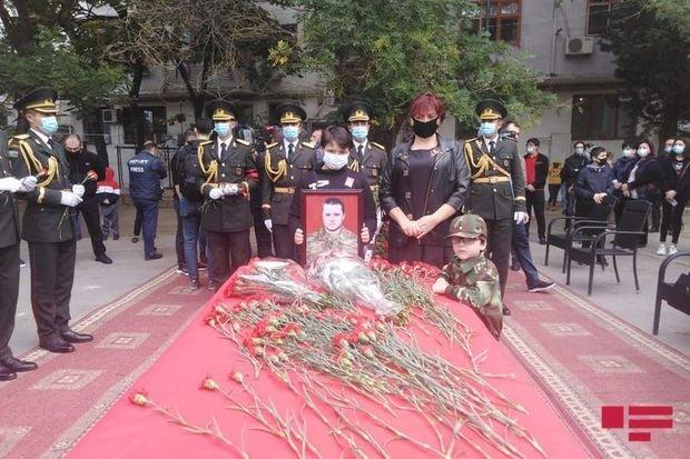 Azərbaycan Ordusunun şəhid hərbçisi Dmitri Sontsevlə vida mərasimi keçirilir