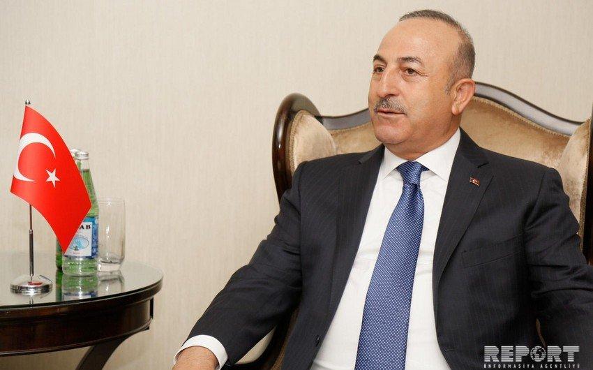 Çavuşoğlu Azərbaycanı təbrik edib