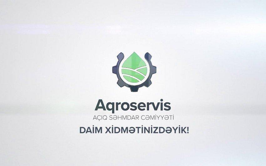 """Nazirlər Kabineti  """"Aqroservis"""" ASC ilə bağlı qərarlarına dəyişiklik etdi"""