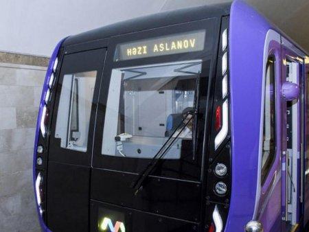 Bakı metrosu iyun ayının 1-dək işləməyəcək
