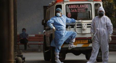 Hindistanda koronavirusdan rekord həddə ölüm qeydə alınıb