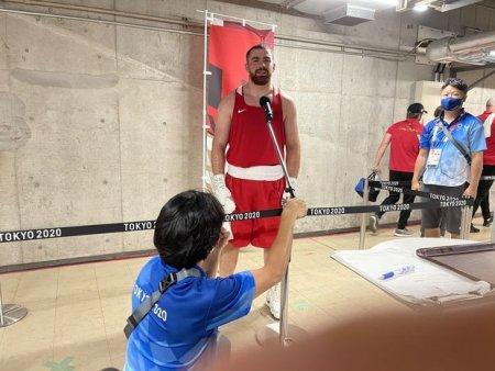 """Olimpiadada ilk döyüşündə qalib gəlmiş boksçumuz: """"Tokiodan medalsız qayıtmayacağam"""""""