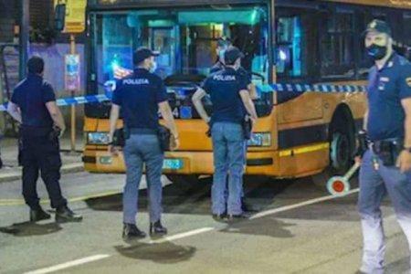 İtaliyada Somalidən olan şəxs avtobusda insanlara hücum edib: Yaralılar var